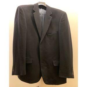 Andrew Fezza Men's Black Cashmere Sport Coat